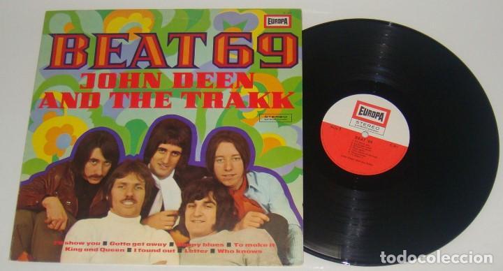 LP - JOHN DEEN AND THE TRAKK - BEAT 69 - MADE IN GERMANY (Música - Discos - LP Vinilo - Pop - Rock - Extranjero de los 70)