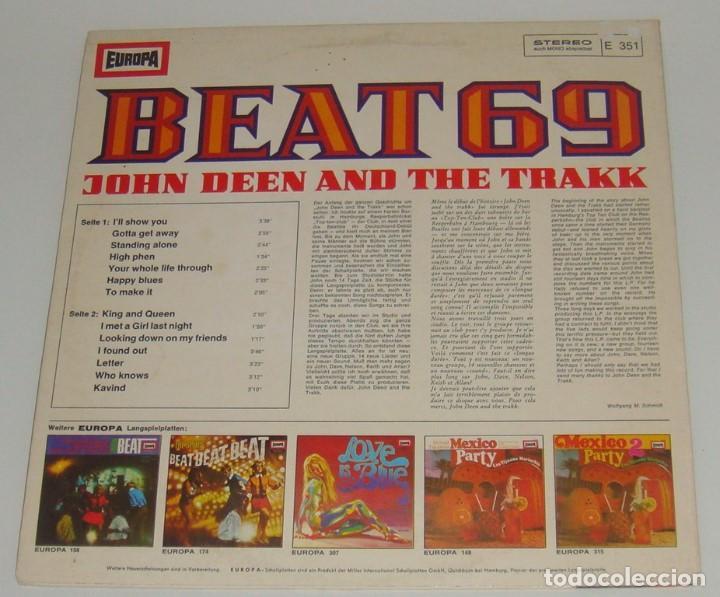 Discos de vinilo: LP - JOHN DEEN AND THE TRAKK - BEAT 69 - MADE IN GERMANY - Foto 2 - 89974168
