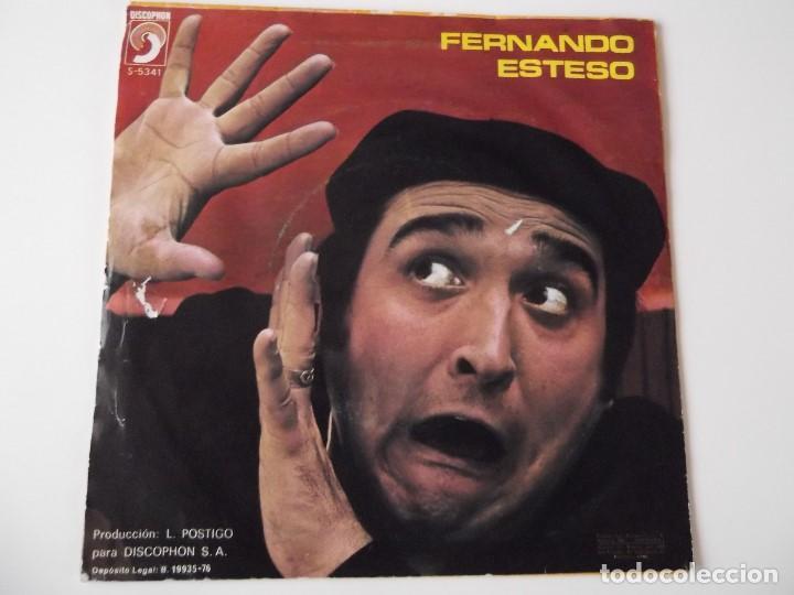 Discos de vinilo: FERNANDO ESTESO - La Ramona / El destape - Foto 2 - 90027556