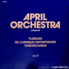 Discos de vinilo: JOSEF PALENICEK. CONCIERTO Nº 3. CTIRAD KOHOUTEK. TEATRO DEL MUNDO. LP FRANCIA. Lote 90032536