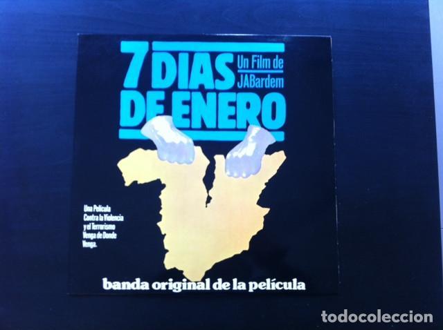 LP NICOLAS PEYRAC 7 DIAS DE ENERO OST BSO BANDA SONORA ORIGINAL (Música - Discos - LP Vinilo - Bandas Sonoras y Actores)