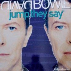 Discos de vinilo: DAVID BOWIE. JUMP THEY SAY. MAXI SINGLE ESPAÑA 6 CANCIONES. Lote 90052748