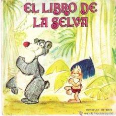 Discos de vinilo: EL LIBRO DE LA SELVA - SINGLE MOVIEPLAY 1971. Lote 115105700