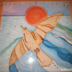 Discos de vinilo: FALCONS LP PHILIPS 1981 - COMO TU - PSYCHEDELIC ROCK - PROGRESIVO . Lote 90056160