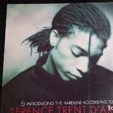 Discos de vinilo: VINILO TERENCE TRENT D'ARBY: INTRODUCING THE HARDLINE ACCORDING TO. Lote 90060560