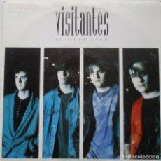 Discos de vinilo: LOS VISITANTES ''LEJOS DE AYER'' AÑO 1992 VINILO DE 7'' DE 2 CANCIONES. Lote 90061912