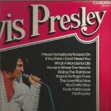 Discos de vinilo: ELVIS PRESLEY LP SELLO RCA CAMDEN EDITADO EN INNGLATERRA. Lote 90063980