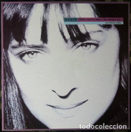 BASIA - BABY YOU'RE MINE (BERIMBAU MIX) . MAXI SINGLE . 1990 EPIC (Música - Discos de Vinilo - Maxi Singles - Pop - Rock Extranjero de los 90 a la actualidad)