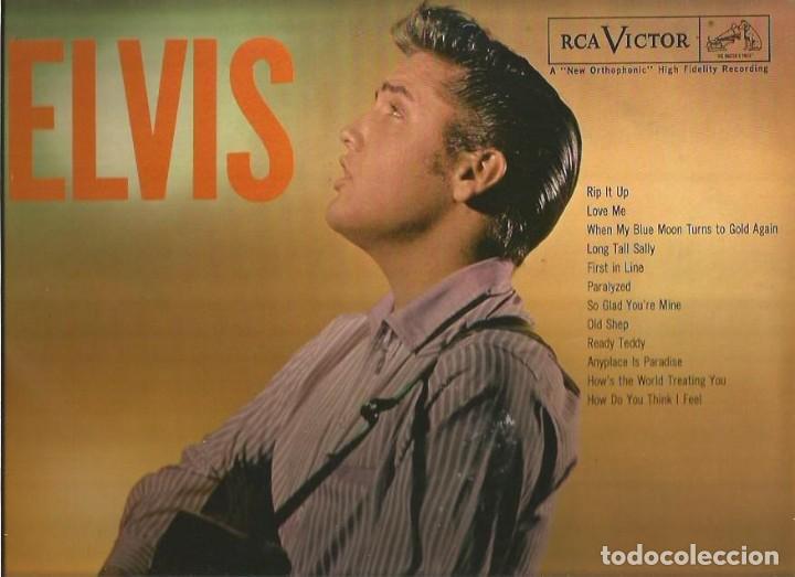 ELVIS PRESLEY LP SELLO RCA VICTOR EDITADO EN USA. (Música - Discos - LP Vinilo - Pop - Rock - Extranjero de los 70)