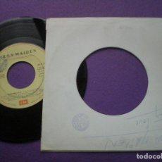 Discos de vinilo: IRON MAIDEN - WASTING LOVE - SINGLE PROMOCIONAL EMI ESPAÑA 1992 // RARO! NWOBHM HEAVY METAL. Lote 90093496