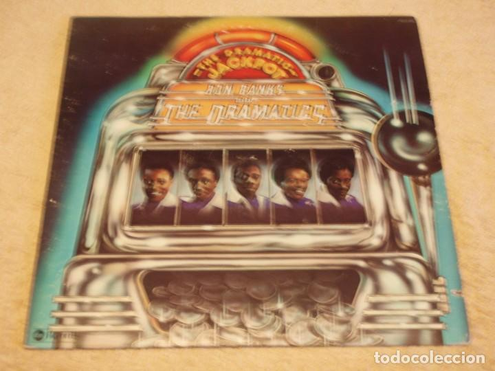 Discos de vinilo: THE DRAMATICS ( THE DRAMATIC JACKPOT ) NEW YORK-USA 1975 LP33 ABC RECORDS - Foto 2 - 90098220