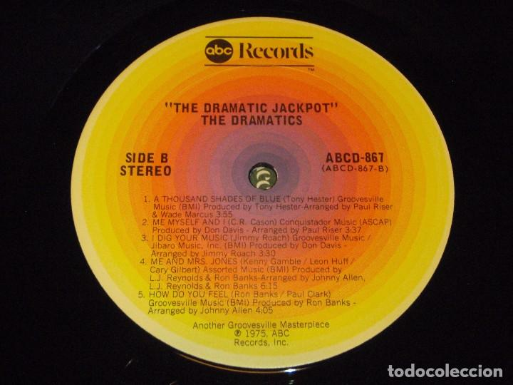Discos de vinilo: THE DRAMATICS ( THE DRAMATIC JACKPOT ) NEW YORK-USA 1975 LP33 ABC RECORDS - Foto 6 - 90098220