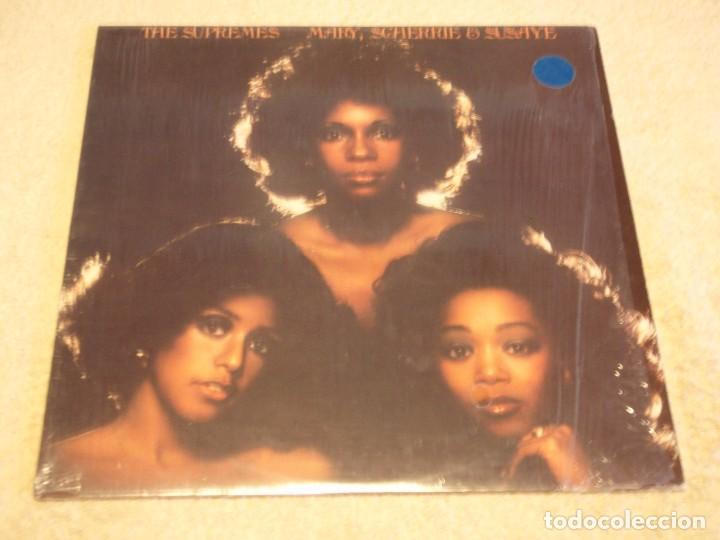 THE SUPREMES - MARY, SCHERRIE & SUSAYE USA - 1976 LP MOTOWN RECORDS (Música - Discos - LP Vinilo - Funk, Soul y Black Music)