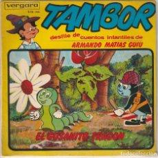 Discos de vinilo: EL GUSANITO TRAGON (ARMANDO MATIAS GUIU) EP 1964. Lote 90108996