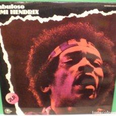 Discos de vinilo: FABULOSO JIMI HENDRIX - 2XLP. EDICIÓN ESPAÑOLA DE 1972. Lote 90120228