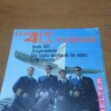 Discos de vinilo: LOS 4 DE LA TORRE. VUELO 502. MB2. Lote 90121236