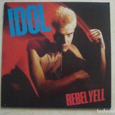 Discos de vinilo: BILLY IDOL - REBEL YELL INSERTO. Lote 90123688