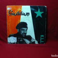 Discos de vinilo: K.L.J. / SADDAM (SPANISH RADIO VERSION) /(RADIO VERSION) / MAX MUSIC, PROMOCIONAL, 1990, ESPAÑA.. Lote 90126260