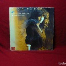 Discos de vinilo: ANNE PAPIRI / ABUS DANGEREUX / WHITE SPIRIT / LEDERMAN, 1990, FRANCES.. Lote 90126760