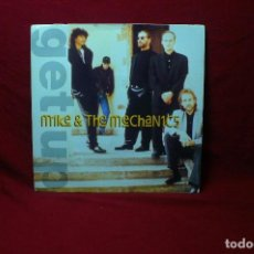 Discos de vinilo: MIKE & THE MECHANICS / GET UP / I THINK L'IVE GOT THE MESSAGE / VIRGIN, 1991.. Lote 90127280