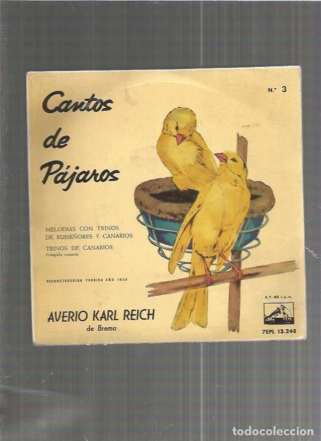 CANTOS DE PAJAROS 3 (Música - Discos - Singles Vinilo - Otros estilos)
