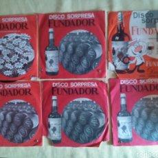 Discos de vinilo: LOTE 6 VINILOS DISCOS SORPRESA FUNDADOR.. Lote 90177894