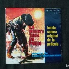 Discos de vinilo - ENNIO MORRICONE-LA MUERTE TENÍA UN PRECIO - 90179380