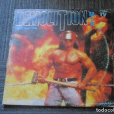 Discos de vinilo: DEMOLITION MIX - MIXED BY QUIQUE TEJADA - BLANCO Y NEGRO - SPAIN - IBL -. Lote 90183572