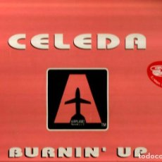 Discos de vinilo: DOBLE MAXI : CELEDA : BURNIN´ UP ( LUCA CASSANI CLUB REMIX, PASTA BOYS DUB, M.A.S. BEAT, ATTACK MIX. Lote 90186812