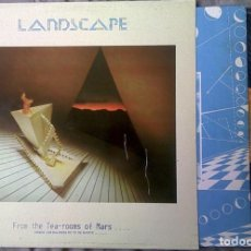 Discos de vinilo: LANDSCAPE - FROM THE TEA-ROOMS OF MARS... TO THE HELL-HOLES OF URANUS. PROMOCIONAL. Lote 90211396