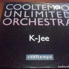 Discos de vinilo: MAXI-SINGLE DE COOLTEMPO UNLIMITED ORCHESTRA. K-JEE. EDICION COOLTEMPO DE 1990 (UK).. Lote 90212904