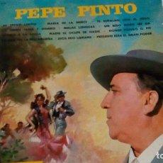 Discos de vinilo: LP DE PEPE PINTO DEL AÑO 1968. Lote 90215240