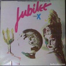 Discos de vinilo: BANDA SONORA ORIGINAL JUBILEE CERT X LP 1980. Lote 90218872