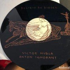 Discos de vinilo: VICTOR NUBLA (DELIRIO DE DIOSES) LP 1986 ESPAÑA (VIN-R). Lote 90219012
