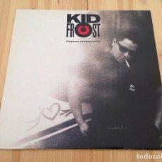 Disques de vinyle: KID FROST - HISPANIC CAUSING PANIC -HIP HOP 90. Lote 92100560