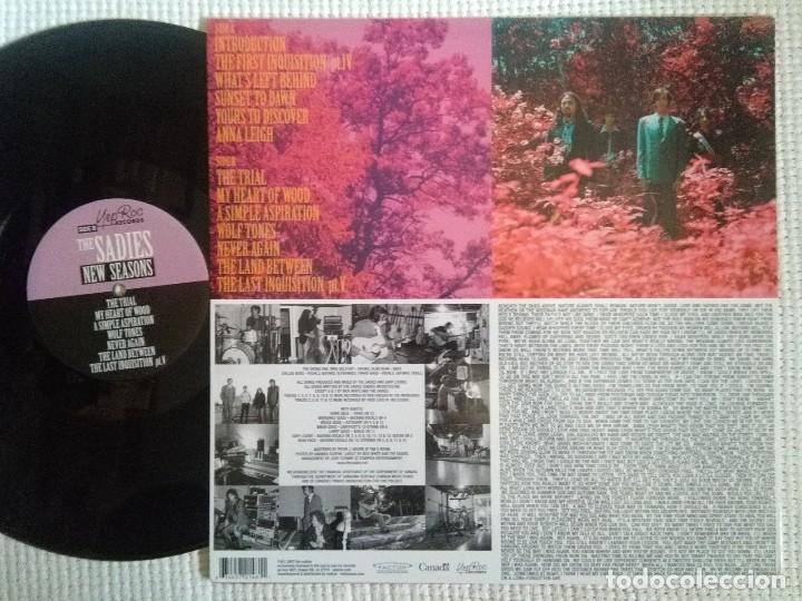 Discos de vinilo: THE SADIES - NEW SEASONS LP ORIGINAL USA 2007 - Foto 2 - 90333652