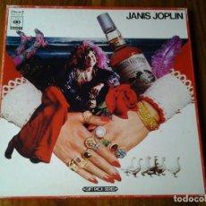 Discos de vinilo: JANIS JOPLIN BOX SET 2 LPS Y POSTER (GIFT PACK SERIES) CBS SONY JAPON. Lote 90350756