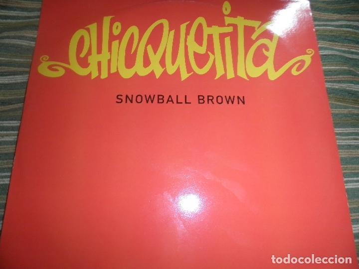 SNOWBALL BROWN - CHICQUETITA MAXI 45 R.P.M. - ORIGINAL INGLES - PWL 1994 - STEREO - (Música - Discos de Vinilo - Maxi Singles - Reggae - Ska)