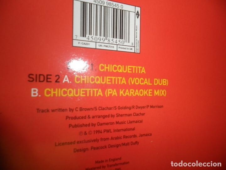 Discos de vinilo: SNOWBALL BROWN - CHICQUETITA MAXI 45 R.P.M. - ORIGINAL INGLES - PWL 1994 - STEREO - - Foto 3 - 90361208