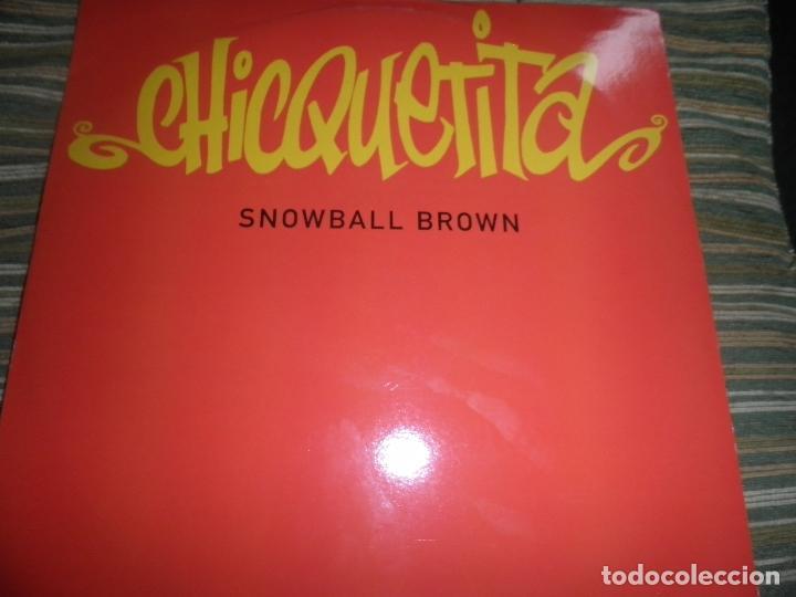 Discos de vinilo: SNOWBALL BROWN - CHICQUETITA MAXI 45 R.P.M. - ORIGINAL INGLES - PWL 1994 - STEREO - - Foto 11 - 90361208