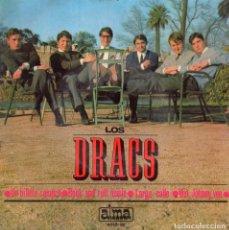 Discos de vinilo: DRACS, EP, VEN JOHNNY VEN + 3, AÑO 1966. Lote 90366280