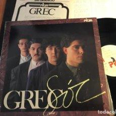 Discos de vinilo: GREC (SOC) LP ESPAÑA CON HOJA PROMO (VIN-R). Lote 90366980