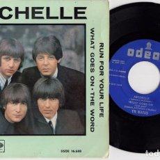 Discos de vinilo: THE BEATLES - MICHELLE - EP DE 4 CANCIONES ESPAÑOL DE VINILO. Lote 90372116