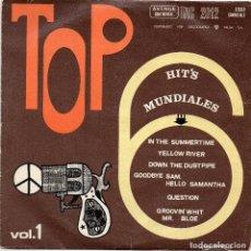 Discos de vinilo: TOP HIT`S MUNDIALES - EP - VOL.1. Lote 90372732