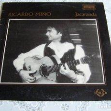 Disques de vinyle: LP RICARDO MIÑO. JACARANDA.. Lote 90372932