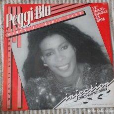 Discos de vinilo: PEGGI BLU – GIRLS IT AIN'T EASY. EDICION UK. Lote 90374784