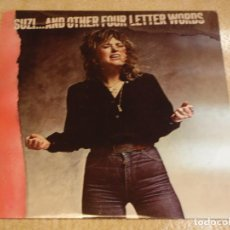 Discos de vinilo: SUZI QUATRO ( SUZI... AND OTHER FOUR LETTER WORDS ) 1979 - SWEDEN LP33 RAK RECORDS. Lote 90375224