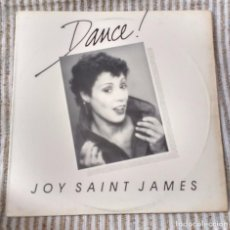 Discos de vinilo: JOY SAINT JAMES – DANCE!. EDICION US. Lote 90375676