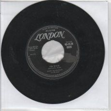 Discos de vinilo: JIMMY MCCRACKLIN AND HIS BAND / THA WALK / I'M TO BLAME (SINGLE LONDON HLM 8598 - 1958) INGLES. Lote 90402725