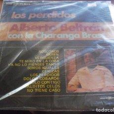 Discos de vinilo: LP DE ALBERTO BELTRAN, LOS PERDIDOS. EDICION IFESA (ECUADOR). MEGARARO. D.. Lote 90410964